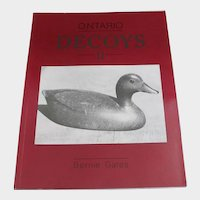 Ontario Decoys Book II Bernie Gates Carved Wooden Bird Duck Carvers Hunting