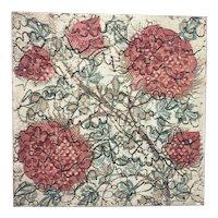 Antique Doulton & Co Art Pottery Tile Arts & Crafts Movement