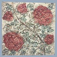 Doulton & Co Art Pottery Tile Arts & Crafts Movement