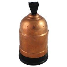 Art Deco Cigarette Dispenser Holder Bakelite Copper Tobacciana Machine Age