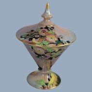 Royal Winton Art Deco Lustre Covered Dish Grimwades China