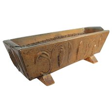 Arts & Crafts Movement Copper Planter Wood Repousse Nouveau