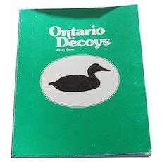 Rare Book Ontario Decoys Bernie Gates - Folk Art Antique Wood Carvings Duck Hunting