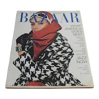 Vintage 1967 Harper's Bazaar Magazine August Edition - Women's Fashion Clothing Advertising