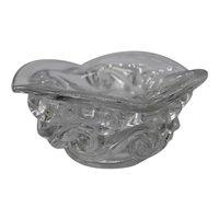 Baccarat Ashtray Glass Crystal France