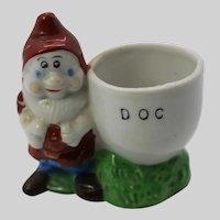 Doc Egg Cup Snow White The Seven Dwarfs Walt Disney 1937 Japan