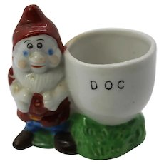Doc Egg Cup Snow White The Seven Dwarfs Walt Disney 1937 Japan