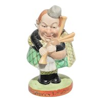 Schafer & Vater Harry Lauder Nodder Figure Scottish Bisque Porcelain Germany Bobblehead