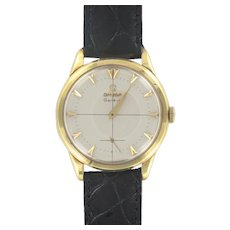 1960s Omega Yellow Gold Men's Watch