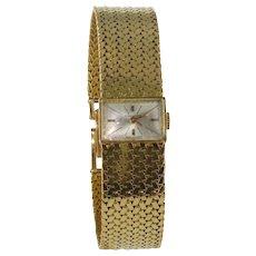 1950s Longines 18 Karats Yellow Gold Woman Watch
