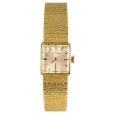 1960s Retro 18 Karat Yellow Gold Eterna Women's Watch
