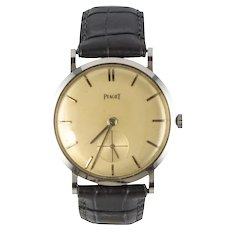 1960s Piaget Retro Men Wristwatch