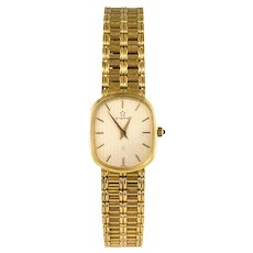 Retro All in 18 Karat Yellow Gold Eterna Women's Watch