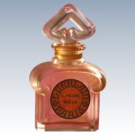 Guerlain Perfume Bottle L Heure Bleue France