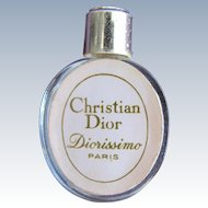 Dior Mini Perfume Bottle Hard to Find Diorissimo Paris Christian Dior
