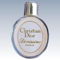 Dior Mini Perfume Bottle Hard to Find Diorissimo Paris Christian Dior