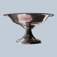 Sterling Silver Candy Dish Compote Dish Bowl