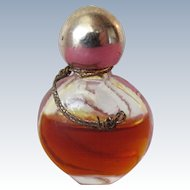 Rare Schiaparelli Perfume Bottle with Perfume Micro Mini with S