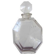 1930's Perfume Bottle Surrender by Ciro Numbered and Initial