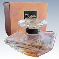 Vintage Lancome Perfume Bottle in Box Tresor 1990