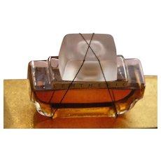 Boxed Perfume Bottle Lentheric Paris Shanghai Never Opened