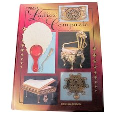 Book of Vintage Compacts by Roselyn Gerson Excellent Condition