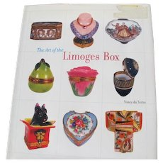 Limoges Boxes Book of Terms and History of Limoges Porcelain Snuff Boxes