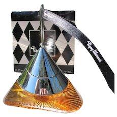 Boxed Perfume Bottle Popy Moreno of Paris France Unused 1997
