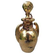 Antique Perfume Bottle from 1865  Gold Perfume Bottle