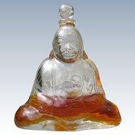 Baccarat Perfume Bottle Crystal Buddha Subtilite by Houbigant