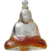 Baccarat Perfume Bottle Crystal Buddha Subtitlite by Houbigant
