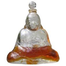 Baccarat Buddha Perfume Bottle Crystal Buddha Subtilite by Houbigant