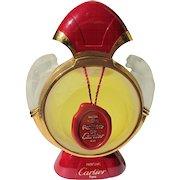 Cartier Perfume Bottle Designer Factice for Pathere de Cartier Inner Stopper