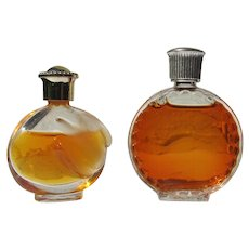Lalique Small Perfume Bottle and Nina Ricci Mini Perfume