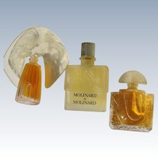 Lalique Mini Perfume Bottles Lalique with Perfume French Perfume