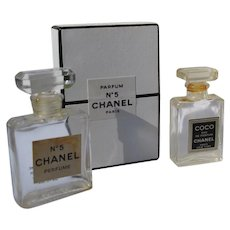 Chanel Perfume Bottle Mini with Box  Coco Chanel Perfume Bottle
