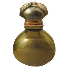 Rare Caron Perfume Bottle Or Et Noir Extremely Rare Hard to Find