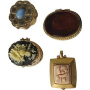 Vintage Solid Perfumes Cody Corday Mary Kay Four Solid Perfumes