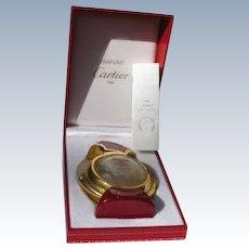 """Cartier Boxed Perfume Bottle """"Panthere de Cartier"""" 1970's Refillable"""