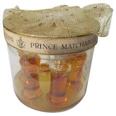 Prince Matchabelli Perfume Novelty Set of Six Perfume Bottles 1953