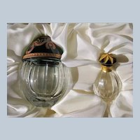 Faberge Egg and Perfume Bottle Crystal Limited Edition with Box