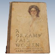 Harrison Fisher Book 1907 1st Edition with Women