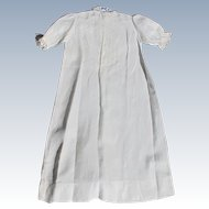 Babys Christening Dress Vintage Hand Tatted Lace Heirloom
