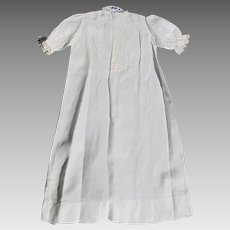 Babys Christening Dress Vintage Hand Tatted Lace Heirloom