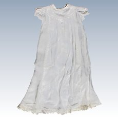 Vintage Christening Dress for Baby with Under Dress Lace