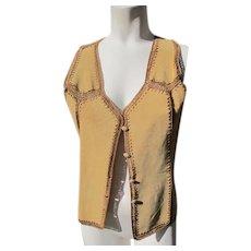 Suede Vest Vintage Great Condition with JFK Provenance