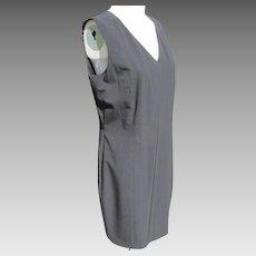 Simple Black Dress Vintage JFK Provenance Excellent Condition Size 12
