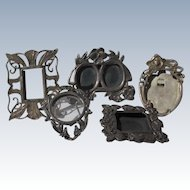 Sterling Silver Picture Frames Small Antiques Marked