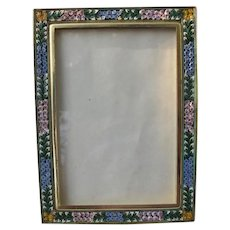 Micro Mosaic Picture Frame From Italy