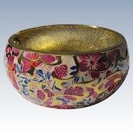 Bangle Bracelet Enameled Colors Never Worn